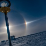 22° Halo vs. parhelic circle