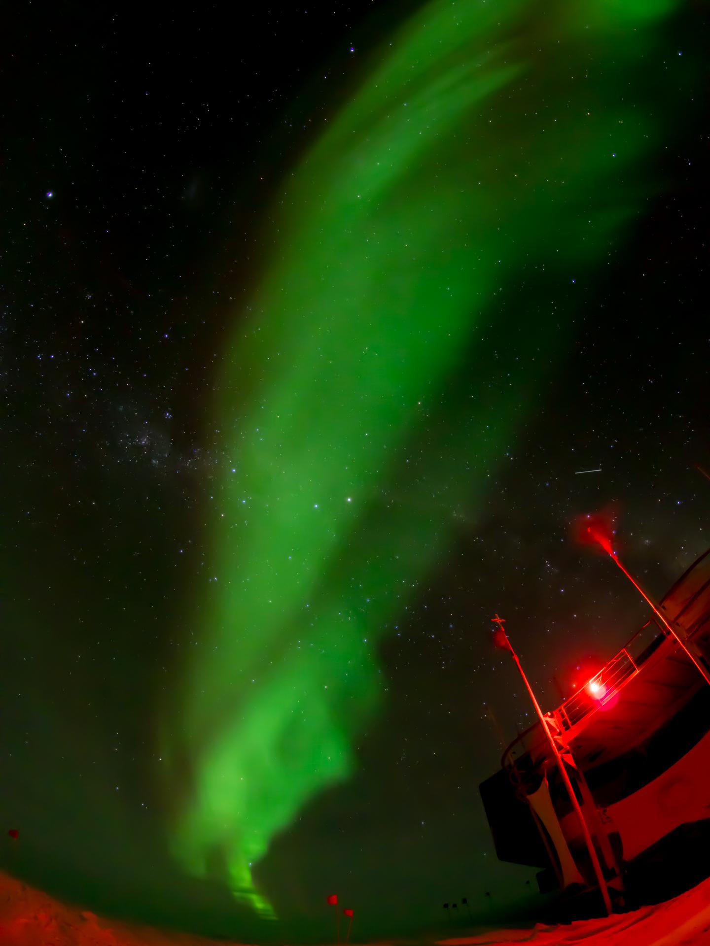 Aurora above DA