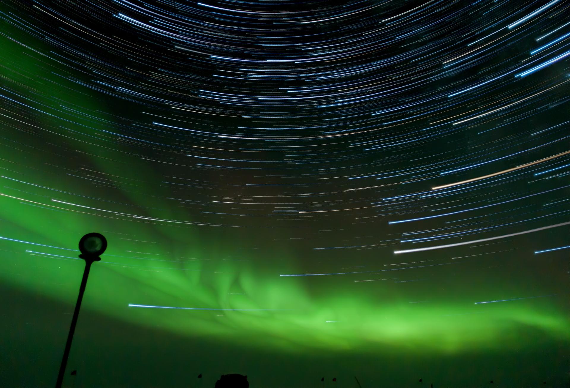 Star trails